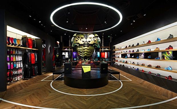 Nike Basketball Retail Store in Japan Designed by Specialnormal