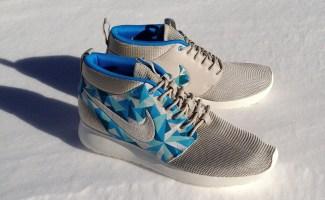 """online store 86e6b 39665 Nike Roshe Run Mid """"Crystallized"""" Custom"""