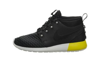 c82e743d816c Nike Roshe Run SneakerBoot Black Base Grey Available Now
