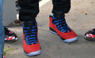 Chris Paul Wears Air Jordan 10 PE on NBA Day of Service