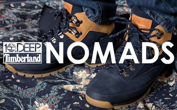 """newest 283d9 284f6 DEEP x Timberland Euro Hiker """"Nomads"""""""