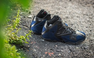 "buy popular 77502 7e9be Weekly Wallpaper  Nike LeBron 11 EXT ""Denim"""