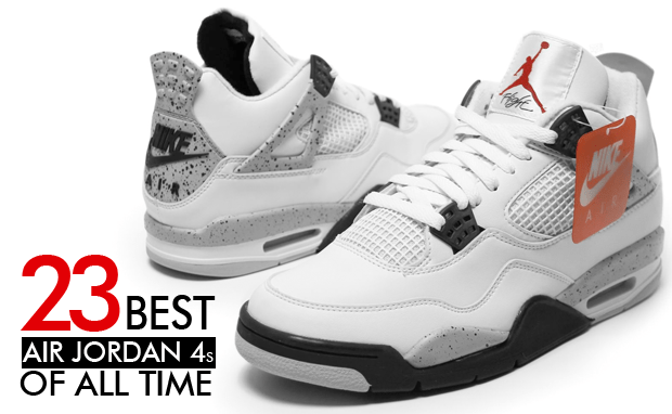 low priced b845a a804a The 23 Best Air Jordan 4s of All Time | Nice Kicks