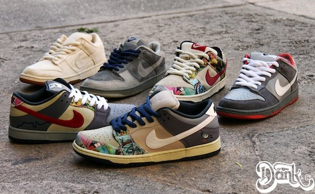 "buy online a40f6 71dc0 Nike SB Dunk Low ""What the City Series"" Custom"