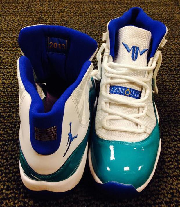 new style 7f949 e1329 Air Jordan 11 Maya Moore PE   Nice Kicks