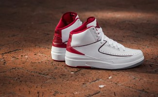 official photos 8e321 c23fd Weekly Wallpaper  Air Jordan 2 White Varsity Red