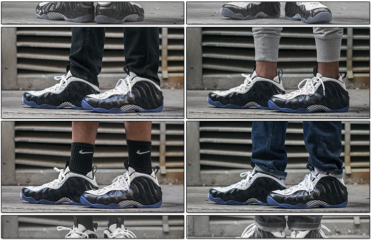 6cd5a263f7b88 Nike Air Foamposite One Black White - On-Foot Look