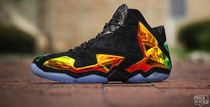 "huge selection of c82f0 53dbb Nike LeBron 11 EXT QS ""King s Crown"" Detailed Images"