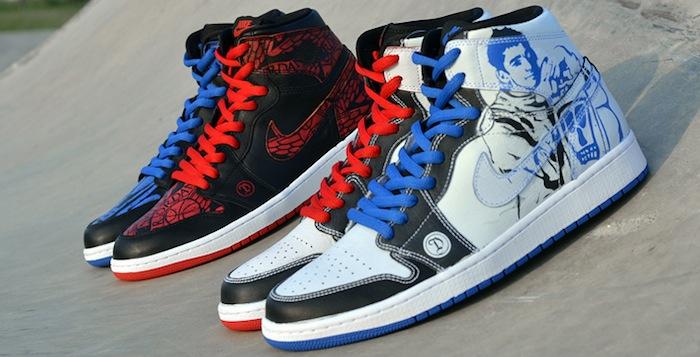 buy popular 0914b 9294a Lance Mountain x Nike SB x Air Jordan 1 Custom   Nice Kicks