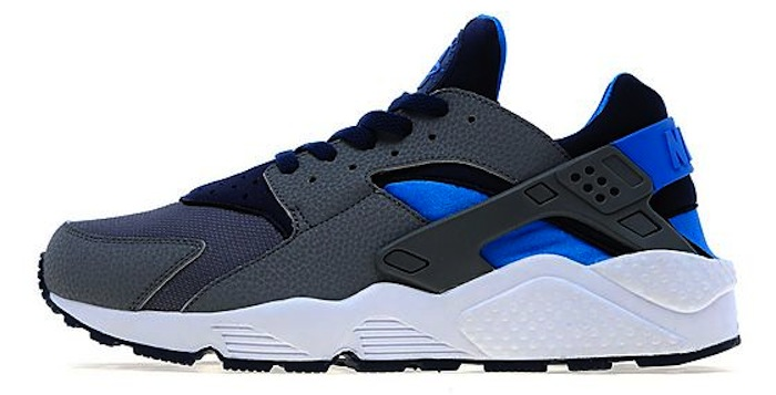 on sale d5e9c 0a2de Nike Air Huarache Cool Grey Midnight Navy JD Sports Exclusive   Nice Kicks