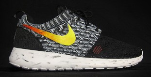 "5601a9058be18 Nike Roshe Run ""Enter the Dragon"" Custom"