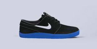 the latest d954f 878fc Nike SB Lunar Stefan Janoski BlackWhite-Game Royal