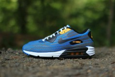 separation shoes a3844 ec674 Nike Air Max Lunar 90 Jacquard Light Ash Photo Blue