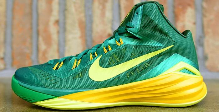 reputable site a360c 1972a Nike Hyperdunk 2014 Lucky Green Sonic Yellow