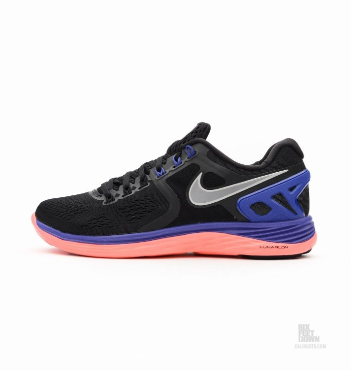 watch 174d9 9db52 ... Nike LunarEclipse 4 BlackPurple-Orange Nice Kicks ...
