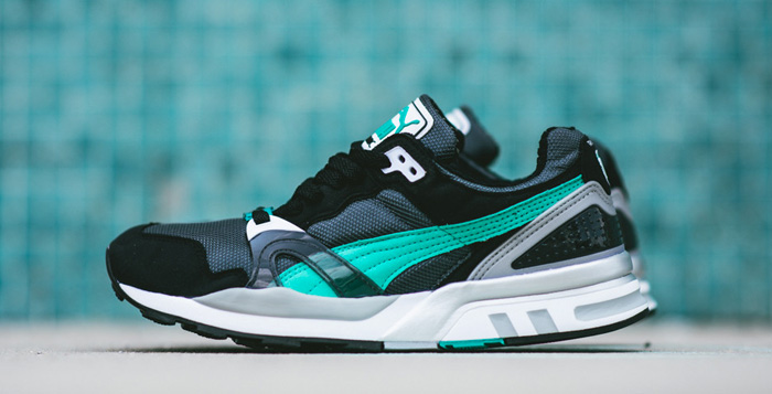 online retailer 6689a 72ad7 PUMA Trinomic XT2 Plus Turbulence Black Pool Green