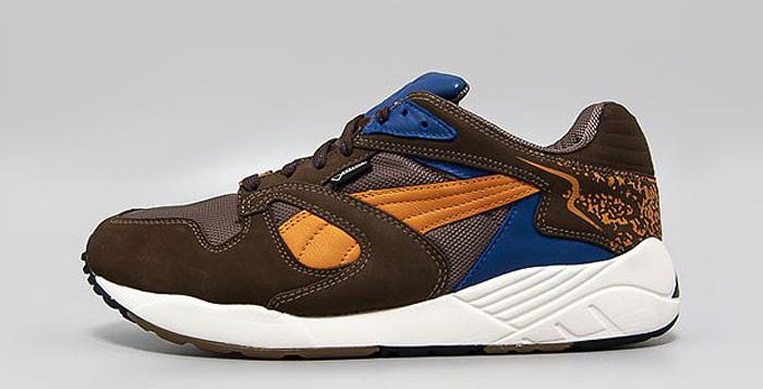 grossiste e0bfa 08e77 PUMA Trinomic XS850 GTX Brown/Orange/Blue   Nice Kicks