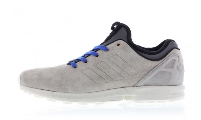 6a9a5af279af adidas ZX Flux NPS Light Brown Chalk White