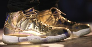 Air Jordan 11 Solid Gold Usher PE