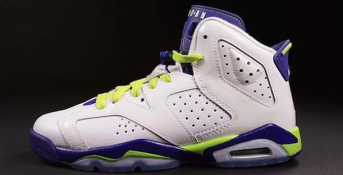 huge selection of 9e9ec dcfbf Air Jordan 6 Retro GS White/Deep Royal Blue-Volt | Nice Kicks