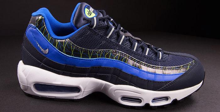 Nike Air Ma PRM Premi Dark Obsidian Silver Cobalt Men's Shoes Blue