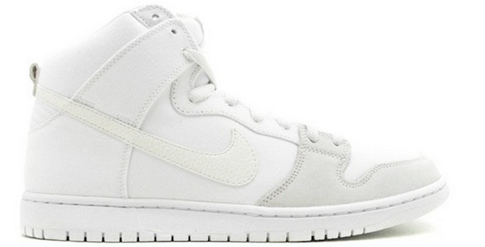 best website 35034 c21cb ... france nike sb dunk high pro white metallic summit 2ae38 b64cf