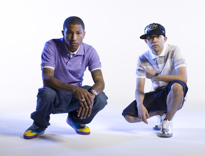 Pharrell Reebok Board Flip