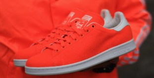 "new arrivals 0628a cc40b Pharrell Williams x adidas Stan Smith ""Tennis"" Bright Orange"