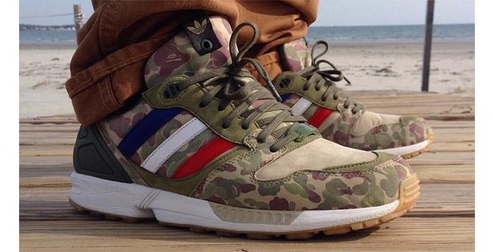size 40 ea092 7cfdf Bape x UNDFTD x adidas ZX 5000 #todayskicks - Nice Kicks