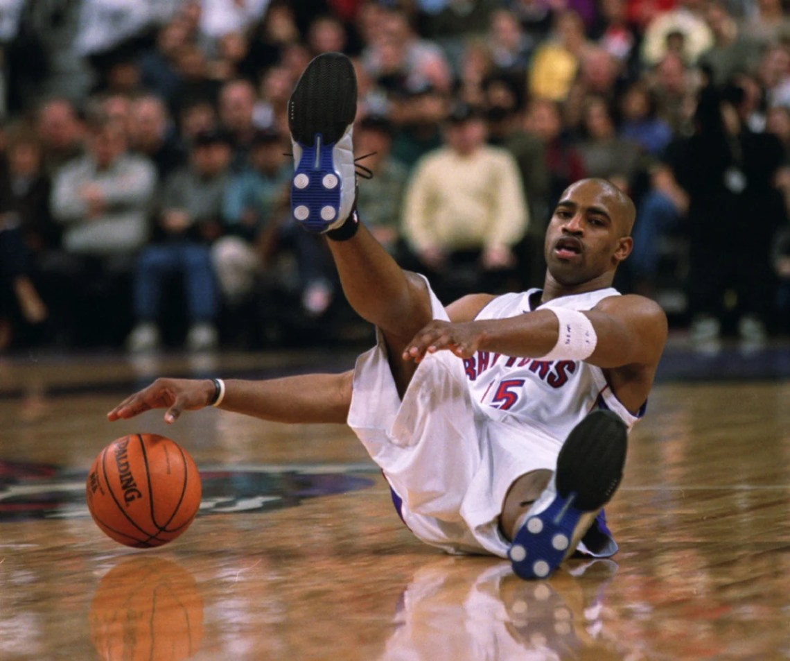 Vince Carter Nike Shox BB4 Raptors