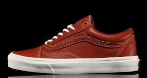 Vans CA Old Skool Boot Leather Henna