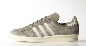 """newest collection 037dc 1d734 adidas Campus 80s """"Pony Hair"""" Grey"""