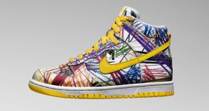 Nike Dunk High GS Scribble