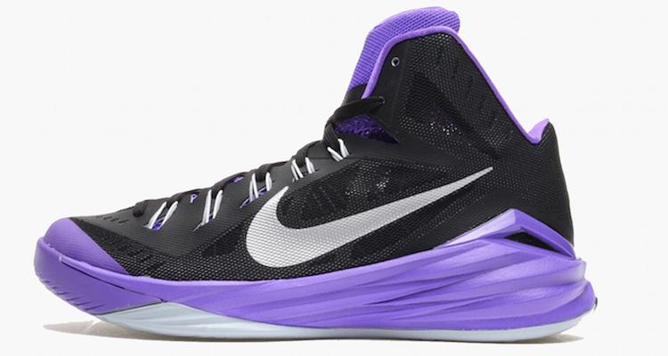 brand new 0d901 e46b8 Nike Hyperdunk 2014 purple colorway Nike Hyperdunk 2014 Black Hyper Grape  ...
