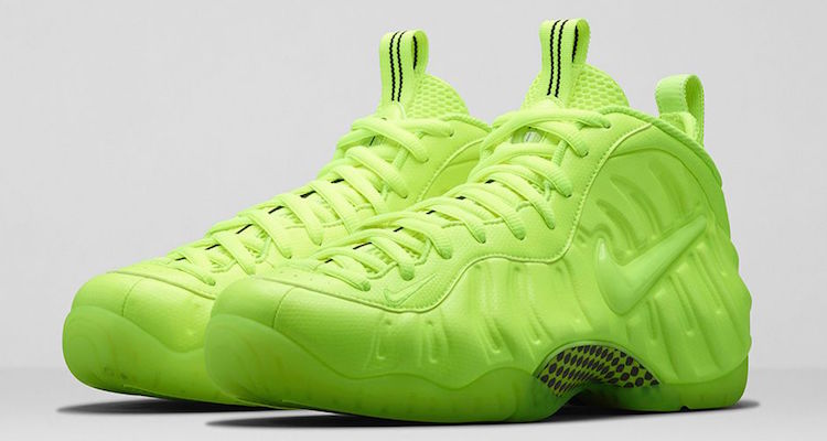 """save off 2f830 dbfdf Nike Air Foamposite Pro """"Volt"""" Official Images"""