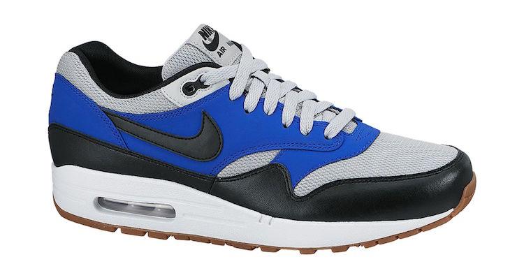 online store 40fc9 38382 Nike Air Max 1 Essential Grey MistLyon Blue-Gum