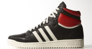 d2c8f6977ed90e adidas Top Ten Hi Black Red-White