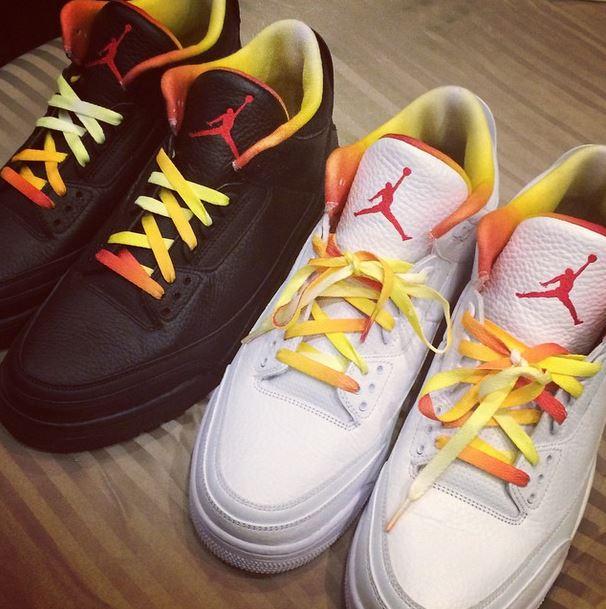 Air Jordan 3 Drake vs Lil Wayne Alternative PEs