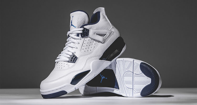 "hot sale online 480c4 09c20 Air Jordan 4 ""Legend Blue"" Release Date"