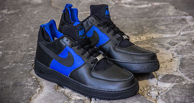 Nike Air Force 1 CMFT Huarache BlackLyon Blue | Nice Kicks