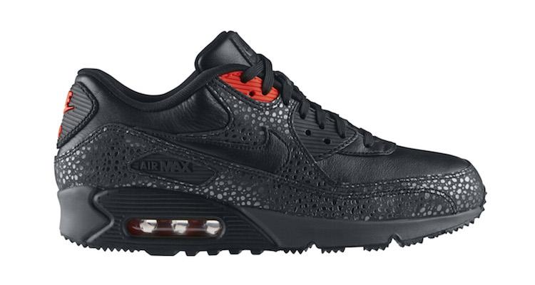 Nike Air Max 90 Deluxe 'Safari' BlackInfrared SneakerFiles  SneakerFiles