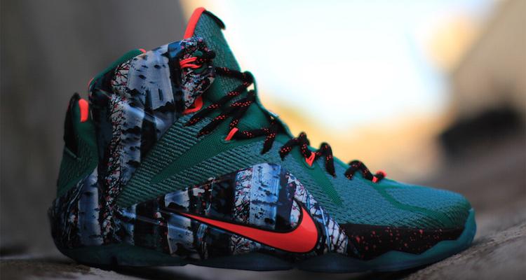 Buy Cheap Nike Lebron 12 Christmas