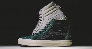 Vans Vault Sk8-Hi Reissue Zip LX Sycamore & Light Grey