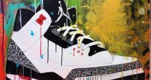 Air Jordan 3 Infrared 23 Art by Shannon Favia