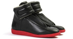Maison Martin Margiela Streamlined High Top Black/Red