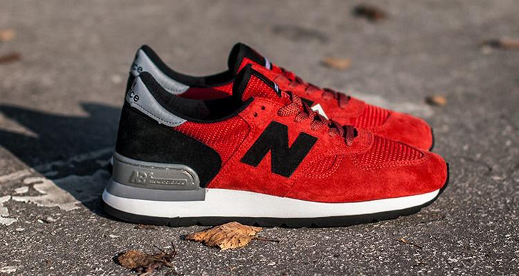 hot sale online c5fa4 bff6a New Balance 990 Red/Black-Grey | Nice Kicks