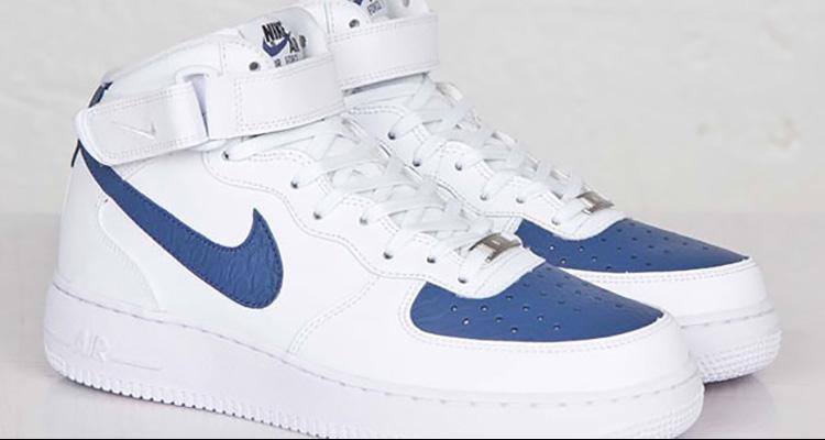 shoes, blue, white, perfection, nike, nike air force, air
