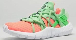 19449084ce0913 Nike Air Huarache NM Total Orange Poison Green