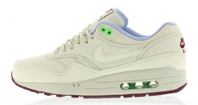 Nike Air Max 1 FB (Light Bone Light Bone Poison Green)