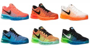 best sneakers 9d072 d33a5 Nike Flyknit Air Max – On Sale